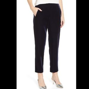 J. Crew velvet pull-on easy pants